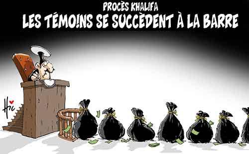 Procès Khalifa: Les témoins se succèdent à la barre - Le Hic - El Watan - Gagdz.com