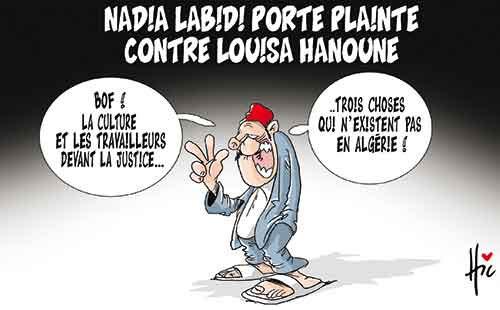 Nadia Labidi porte plainte contre Louisa Hanoune - Le Hic - El Watan - Gagdz.com