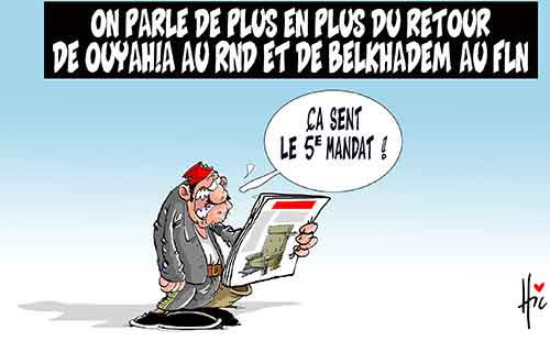 On parle de plus en plus du retour de Ouyahia au rnd et de Belkhadem au fln - Le Hic - El Watan - Gagdz.com