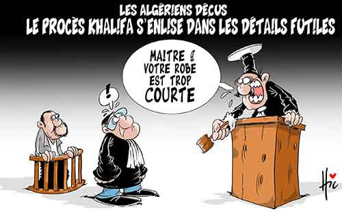 Les Algériens déçus: Le procès Khalifa s'enlise dans les détails futiles - Le Hic - El Watan - Gagdz.com