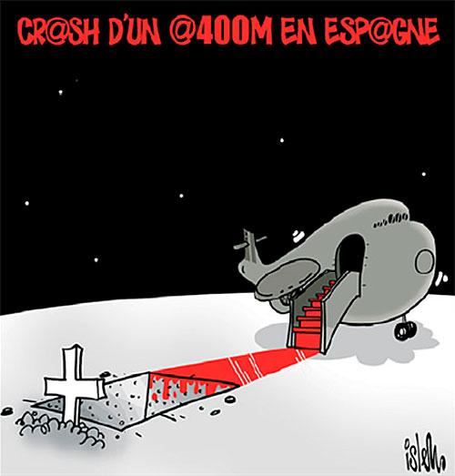 Crash d'un A400M en Espagne