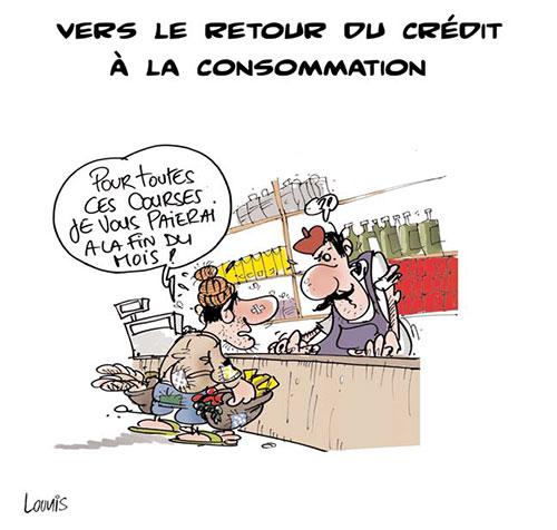 Vers le retour du crédit à la consommation - Lounis Le jour d'Algérie - Gagdz.com