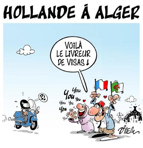 Hollande à Alger