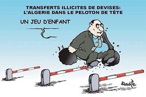 Transferts illicites de devises: L'Algérie dans le peloton de tête - Ghir Hak - Les Débats - Gagdz.com