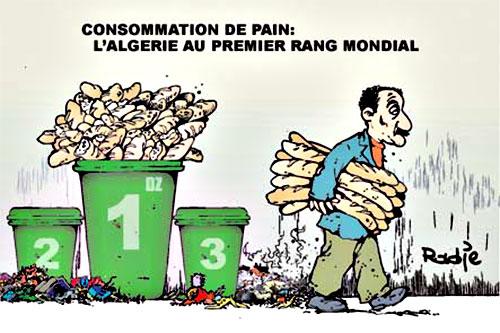Consommation de pain: L'Algérie au premier rang mondial - Ghir Hak - Les Débats - Gagdz.com