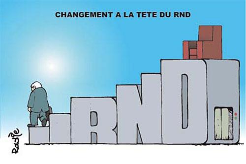 Changement à la tête du RND - Ghir Hak - Les Débats - Gagdz.com