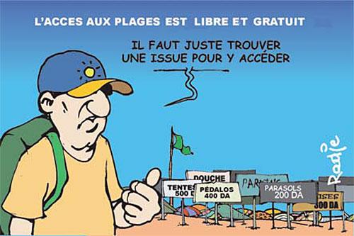 L'accès aux plages est libre et gratuit - Ghir Hak - Les Débats - Gagdz.com