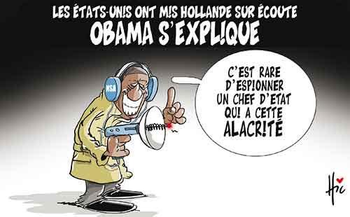 Les Etats-Unis ont mis Hollande sur écoute: Obama s'explique