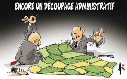Encore un découpage administratif - Le Hic - El Watan - Gagdz.com