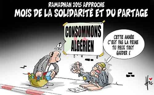Ramadhan 2015 approche: Mois de la solidarité et du partage - Le Hic - El Watan - Gagdz.com