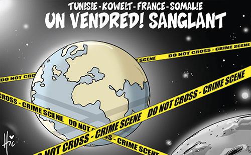 Tunisie-Koweit-France-Somalie: Un vendredi sanglant - Le Hic - El Watan - Gagdz.com