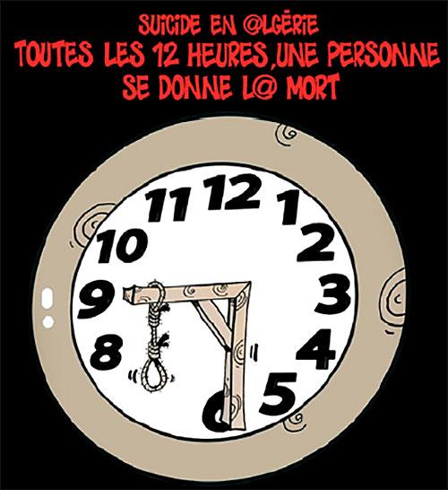 Suicide en Algérie: Toutes les 12 heures, une personne se donne la mort