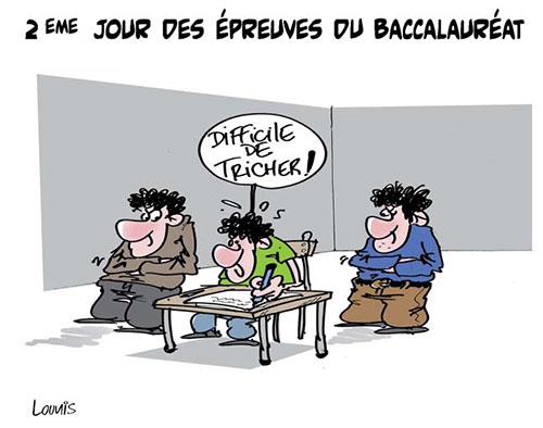2ème jour des épreuves du baccalauréat - Lounis Le jour d'Algérie - Gagdz.com