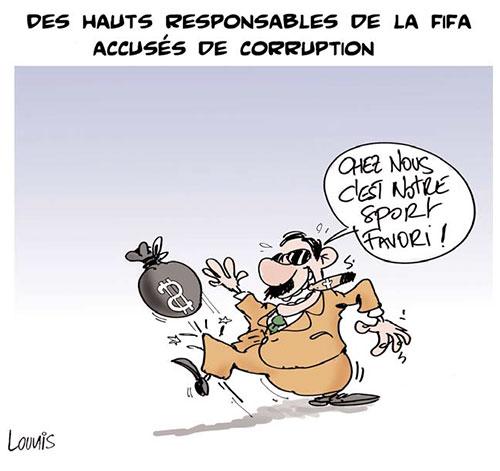 Des haut responsables de la Fifa accusés de corruption - Lounis Le jour d'Algérie - Gagdz.com