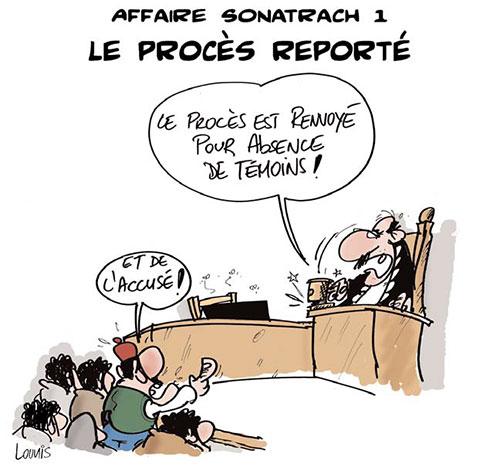 Affaire sonatrach 1: Le procès reporté - Lounis Le jour d'Algérie - Gagdz.com