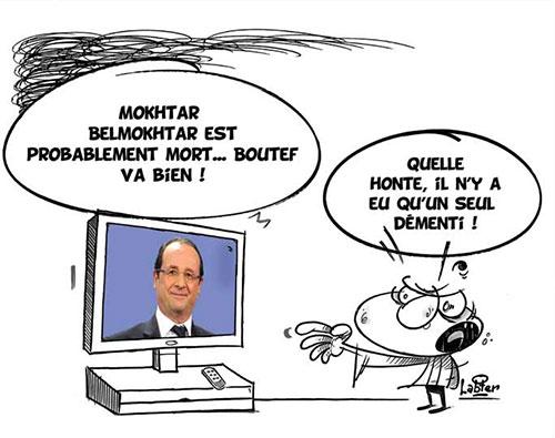 Mokhtar Belmokhtar est probablement mort, boutef va bien - Vitamine - Le Soir d'Algérie - Gagdz.com