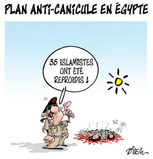 Plan anti-canicule en Egypte