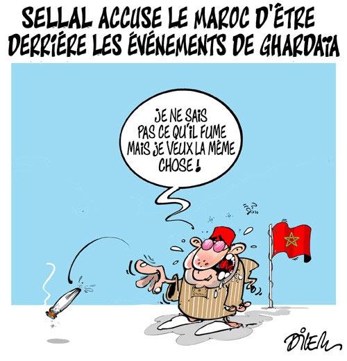 Sellal accuse le Maroc d'être derrière les évènements de Ghardaïa