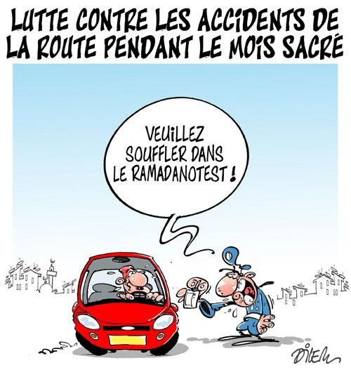 Lutte contre les accidents de la route pendant le mois sacré