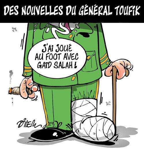 Des nouvelles fu général Toufik
