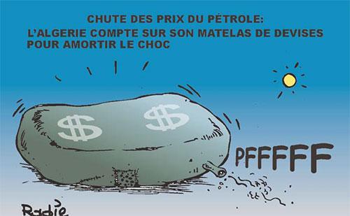 Chute des prix du pétrole: L'Algérie compte sur son matelas de devises pour amortir le choc