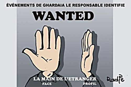 Evènements de Ghardaïa, le responsable identifié