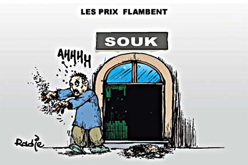 Les prix flambent - Ghir Hak - Les Débats - Gagdz.com