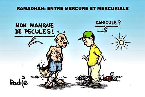 Ramadhan: Entre mercure et mercuriale - Ghir Hak - Les Débats - Gagdz.com