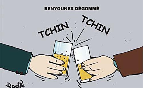 Benyounes dégommé - Ghir Hak - Les Débats - Gagdz.com