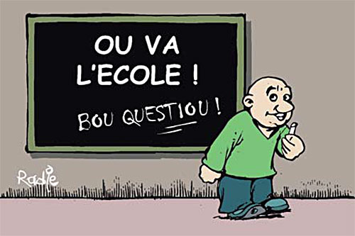 Ou va l'école - Ghir Hak - Les Débats - Gagdz.com