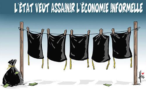L'état veut assainir l'économie informelle - Le Hic - El Watan - Gagdz.com