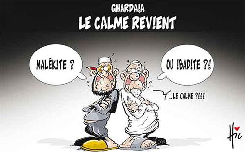 Ghardaïa: Le calme revient - Le Hic - El Watan - Gagdz.com