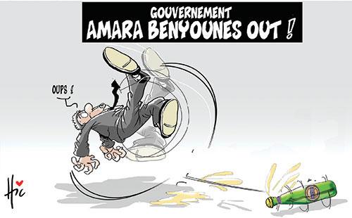 Gouvernement: Amara Benyounes out - Le Hic - El Watan - Gagdz.com