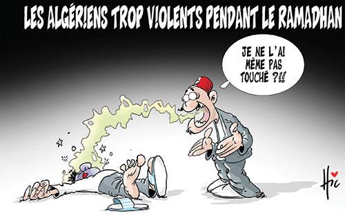 Les Algériens trop violents pendant le ramadhan - Le Hic - El Watan - Gagdz.com