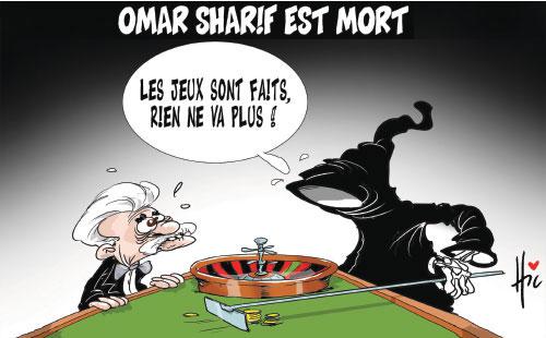 Omar Sharif est mort - Le Hic - El Watan - Gagdz.com
