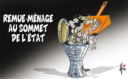 Remue-ménage au sommet de l'état - Le Hic - El Watan - Gagdz.com