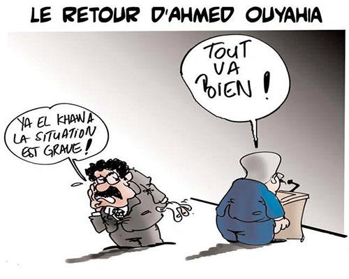 Le retour d'Ahmed Ouyahia - Lounis Le jour d'Algérie - Gagdz.com