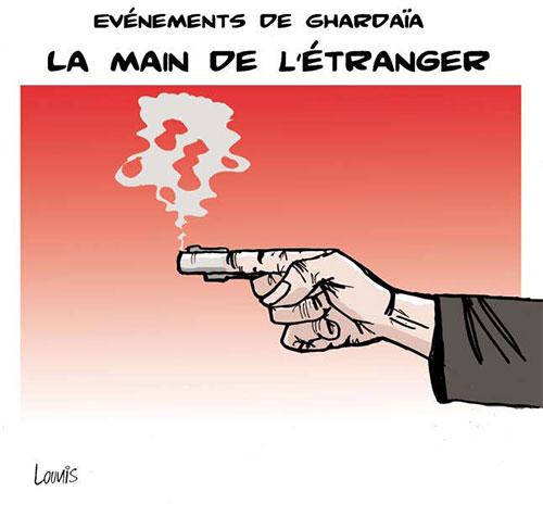 Evènements de Ghardaïa: La main de l'étranger - Lounis Le jour d'Algérie - Gagdz.com