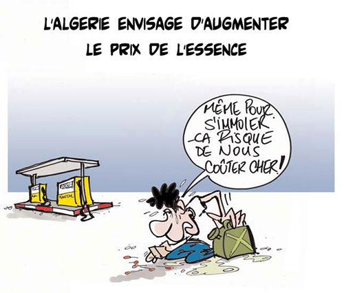 L'Algérie envisage d'augmenter le prix de l'essence - Lounis Le jour d'Algérie - Gagdz.com