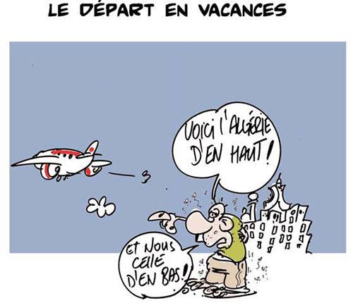 Le départ en vacances - Lounis Le jour d'Algérie - Gagdz.com