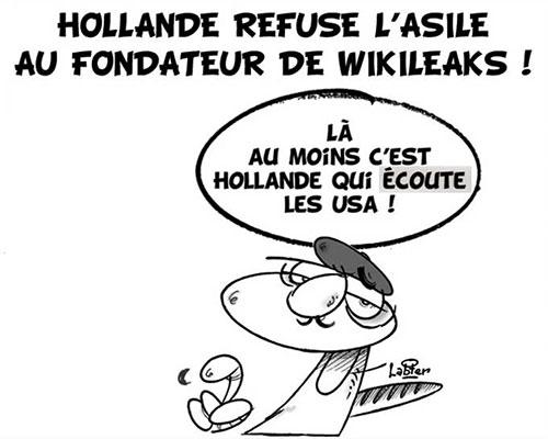 Hollande refuse l'asile au fondateur de wikileaks - Vitamine - Le Soir d'Algérie - Gagdz.com
