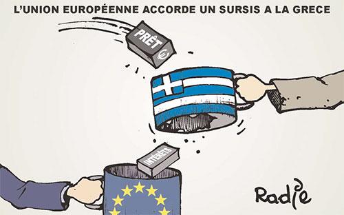 L'union européenne accorde un sursis à la grèce - Ghir Hak - Les Débats - Gagdz.com