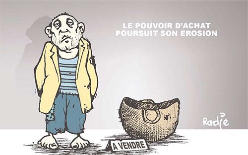 Le pouvoir d'achat poursuit son érosion - Ghir Hak - Les Débats - Gagdz.com