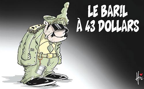 Le baril à 43 dollars - Le Hic - El Watan - Gagdz.com