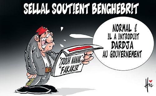 Sellal soutient Benghebrit - Le Hic - El Watan - Gagdz.com
