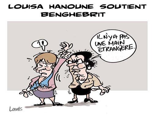 Louisa Hanoune soutient Benghebrit - Lounis Le jour d'Algérie - Gagdz.com