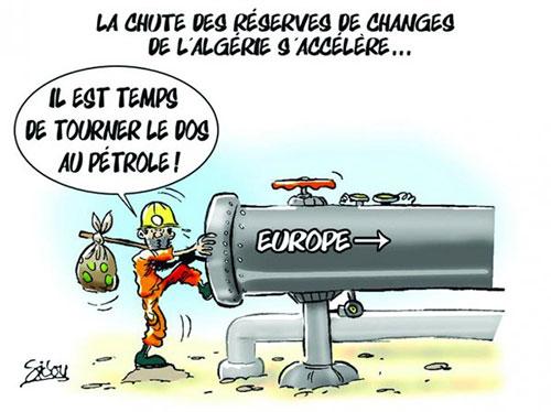 La chute des réserves de changes de l'Algérie s'accélère