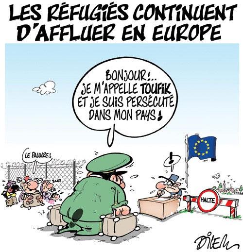 Les réfugiés continuent d'affluer en Europe