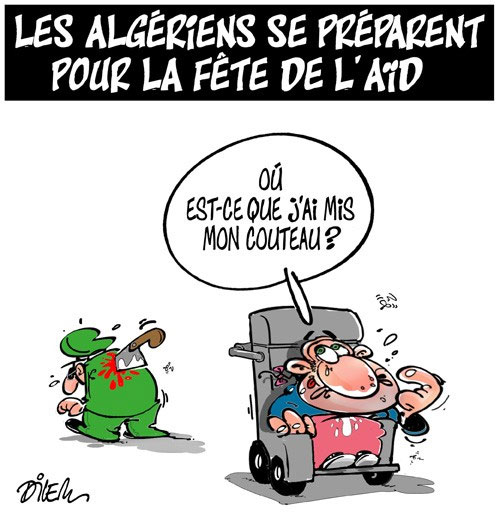 Les Algériens se préparent pour la fête de l'aid
