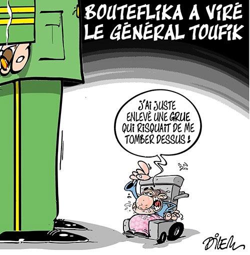 Bouteflika a viré le général Toufik